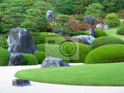 Choose a wall mural  japanese garden, garden, museum - adachi museum of art in japan. PIXERS wall murals made of great fabrics. Choose artistic photos from our catalog.