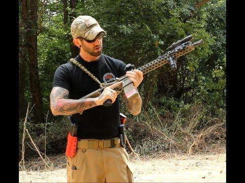 Rifle Recoil Control Techniques - YouTube