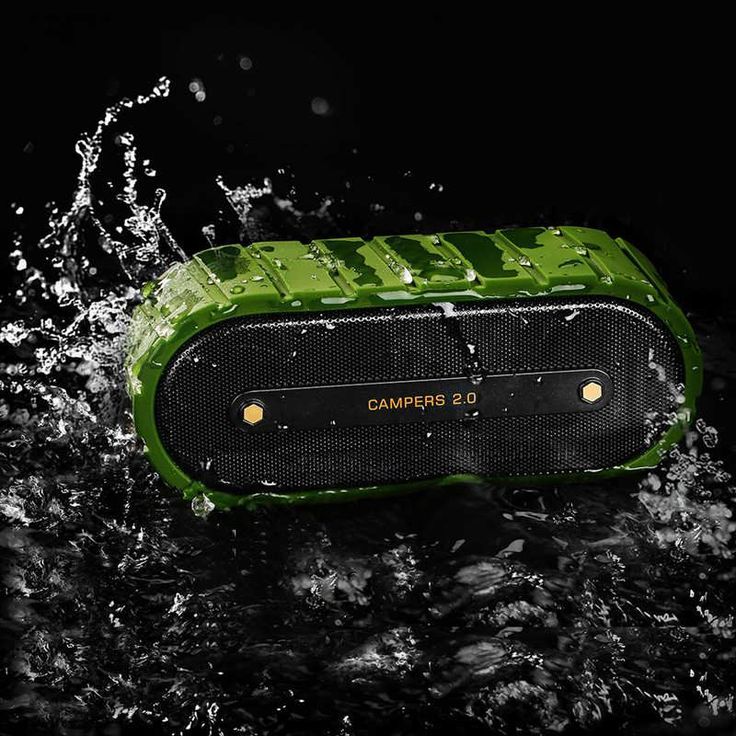 Mrice Campers2.0 2500mAh Waterproof IPX4 TF Card Remote Shutter Hands-free Bluetooth 4.0 Speaker  Worldwide delivery. Original best quality product for 70% of it's real price. Buying this product is extra profitable, because we have good production source. 1 day products dispatch from...
