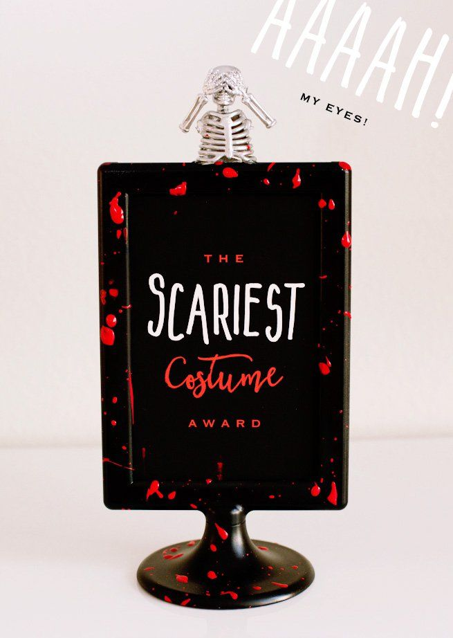 Scariest Halloween Costume Award