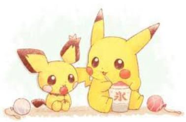 Kawaii pikachu                                                                                                                                                                                 Plus