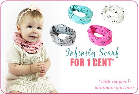 Happy April Fool's Day! Enjoy this ONE cent deal... It's April 1st and we wanted to offer you a deal that almost seemed fake, but it's real...we promise!  We are offering our cotton Infinity Scarf for just a penny this weekend only and here's how you can redeem this deal:  1) Add $39 worth of stuff to your cart;  2) Add the Infinity Scarf you want to your cart as there's 5 colours to choose from! (Here's the link);  3) At checkout, enter the coupon april1 in the coupon section.
