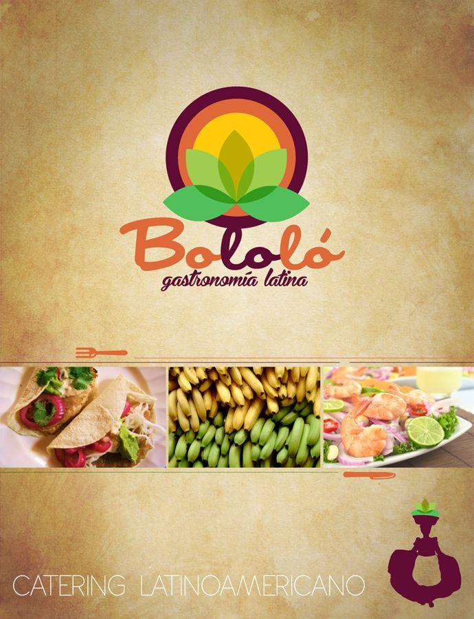 Imagen corporativa para BOLOLÓ - Emprendimiento en Catering Latino Año ©2010