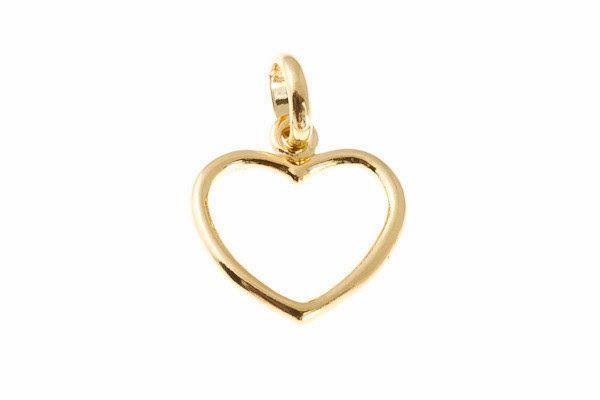 #zawieszka #serce #gold #heart #walentynki #valentinesday
