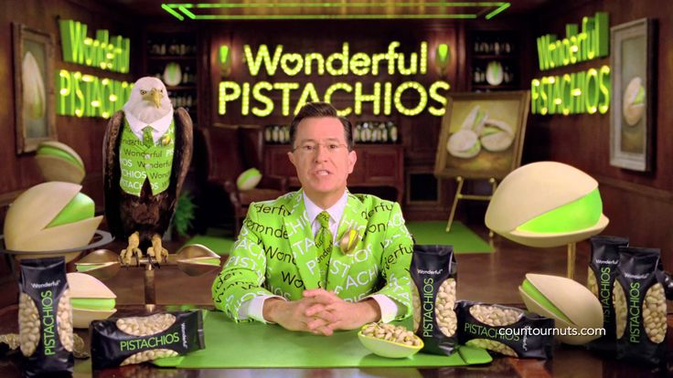 Wonderful Pistachios Stephen Colbert Super Bowl Commercial 2014, Parts 1...