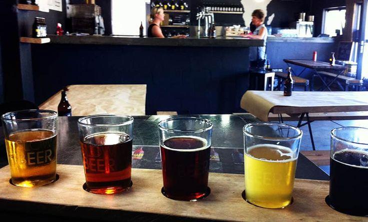 Fantastisk öl finns på Darling Brew Slow Quarter i Kapstaden.