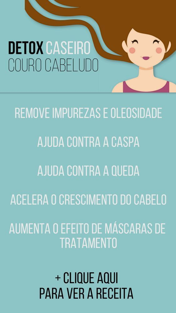 Detox no Couro Cabeludo: combate a queda e ajuda no crescimento do cabelo