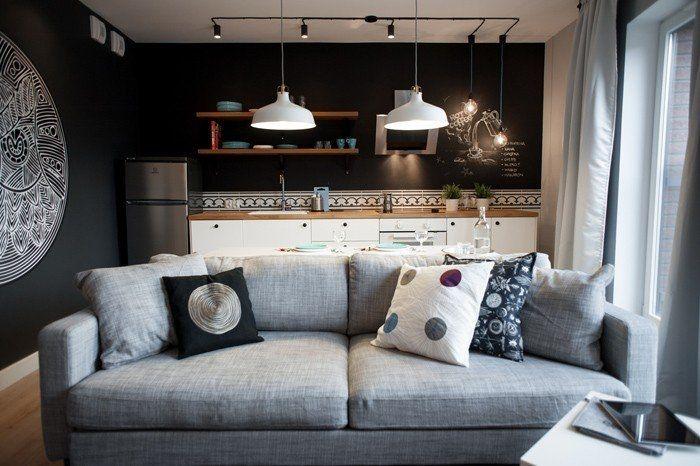 Небольшая квартира площадью 41 кв.м в Гданьске, Польша. - Дизайн интерьеров   Идеи вашего дома   Lodgers