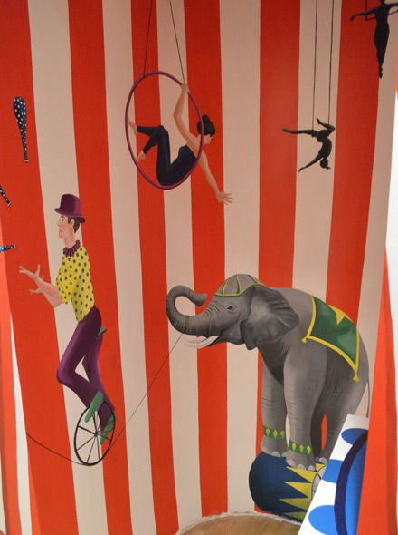 75 best foto posterbehang bij images for Circus wall mural