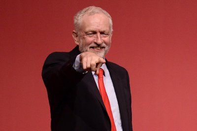 Before and after Brexit: Photo highlights of British politics in 2016:      Brexit:   British opposition Labour Party leader Jeremy Corbyn reacts after being announced as the winner of the party's leadership contest at the Labour Party Leadership Conference in Liverpool on 24 September 2016.   Oli Scarff/Getty Images