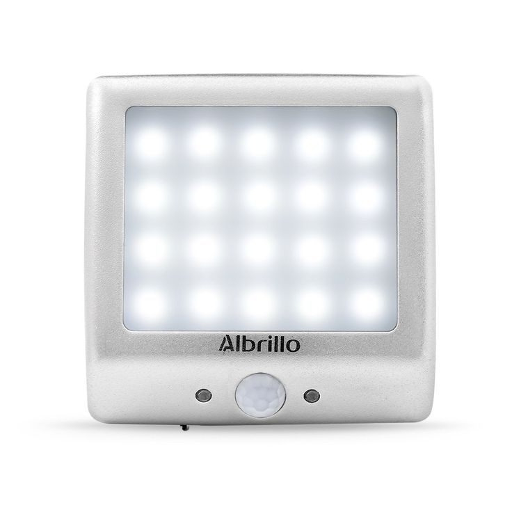 Albrillo Motion Sensor Night Light LED Rechargeable Battery Wall Lights