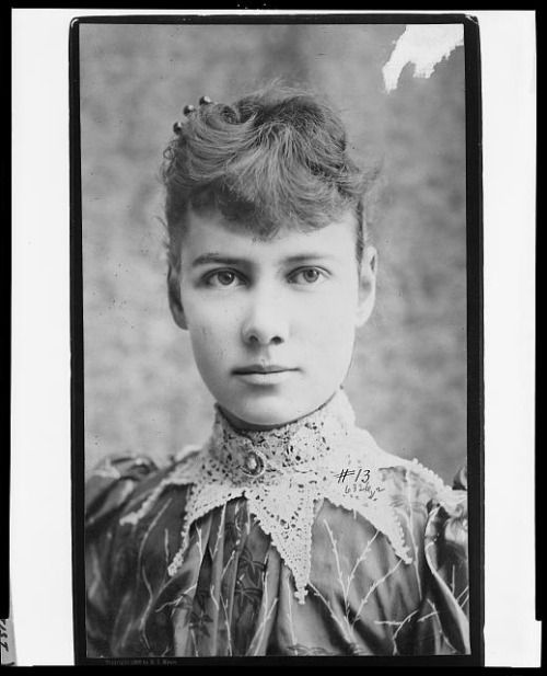 In 1887, American journalist Nellie Bly had herself committed to New York's notorious Blackwell's Island insane asylum – on purpose, as part of an assignment from the New York World newspaper. (Image viaLibrary of Congress)