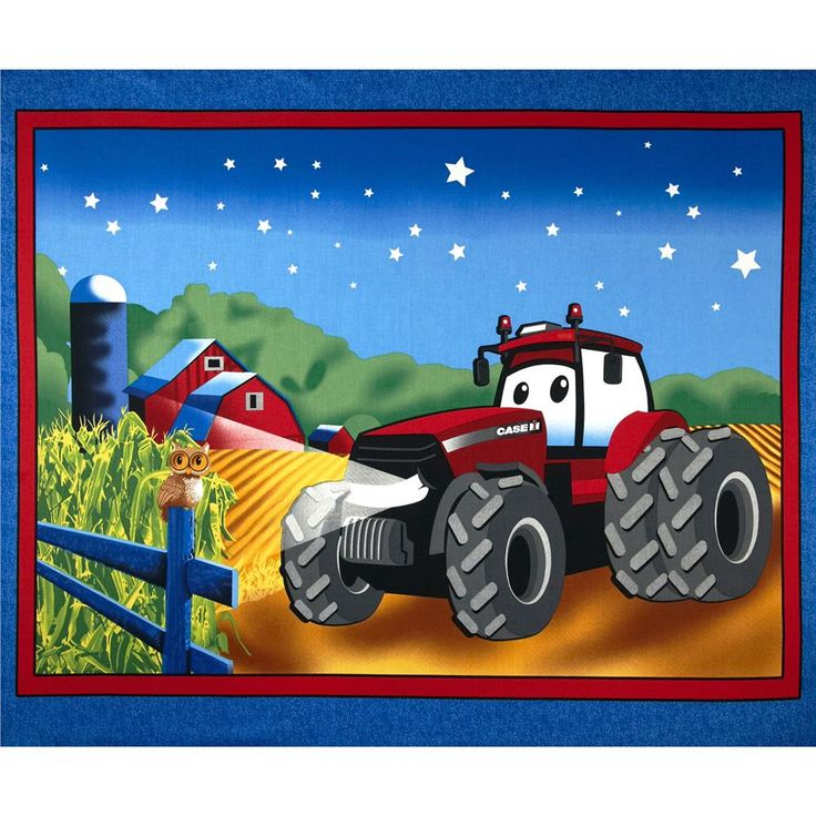 15 best tractor quilts images on pinterest home decor for International harvester room decor