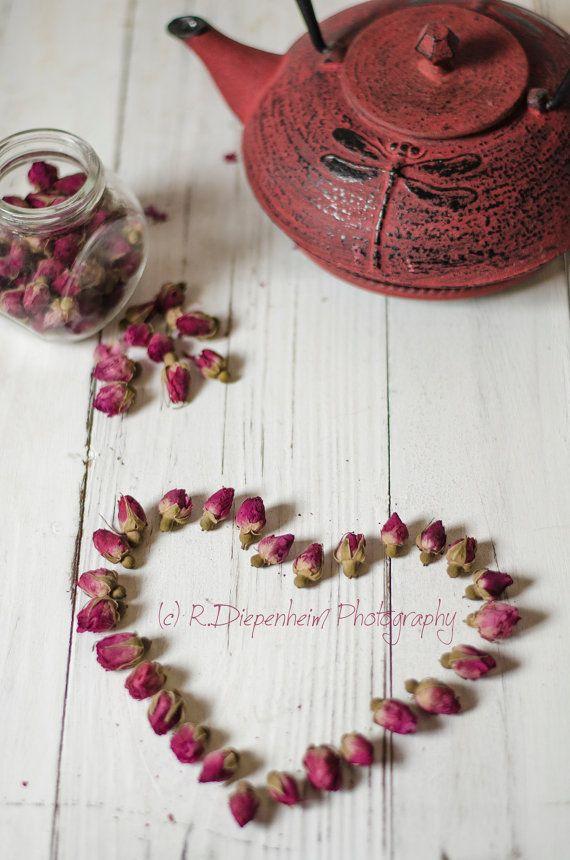 Love is ... Rosebud Tea  digital download by RDiepenheimFoto, $10.00