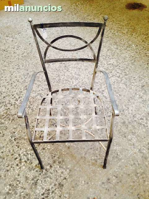 MIL ANUNCIOS.COM - Silla forja. Muebles silla forja. Venta de muebles de segunda mano silla forja. muebles de ocasión a los mejores precios.