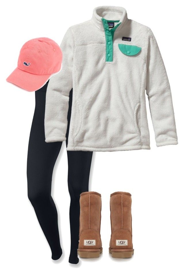 """Day 3-Seeing the Lights"" by morgzz-07 ❤ liked on Polyvore featuring NIKE, Patagonia, UGG Australia and twelvedaysofchristmas2k15"