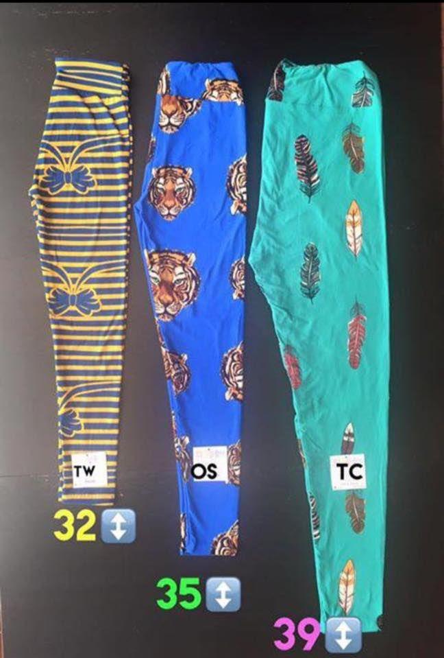 "Average length of lularoe leggings.. Tween, onesize leggings or tall & curvy. Shop LuLaRoe on Facebook by searching, ""LuLaRoe with Tiffany Braunel""!"