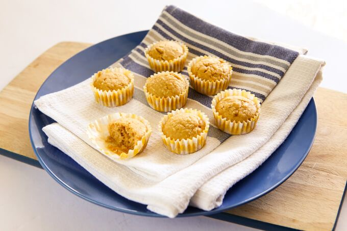skinnymixer's Lemon Coconut Muffins