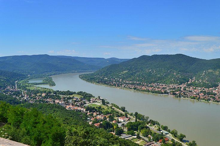 Dunakanyar a Visegrádi Fellegvárból, Hungary