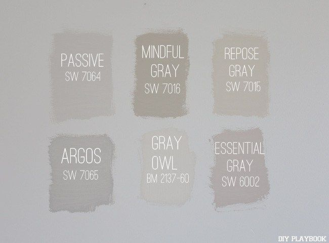gray paint color choices for your home...good information!!