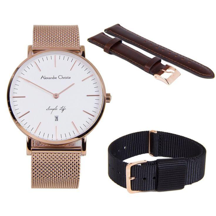 A-Watches.com - Alexandre Christie Simple Life Male Watch 8566MDBRGSL, $159.00 (https://www.a-watches.com/alexandre-christie-simple-life-male-watch-8566mdbrgsl/)