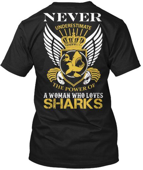 Power Of Woman Who Loves Sharks (Ltd.)