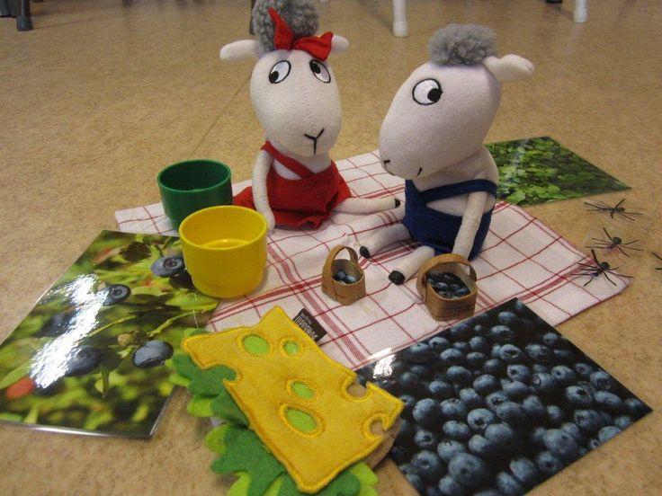 """Language training in preschool! Do tale of concrete materials. Here is the tale of """"Boo and Baa in the Woods"""". Språkträning i förskolan! Gör sagan i konkret material. Här är sagan om """"Bu och Bä i skogen""""."""