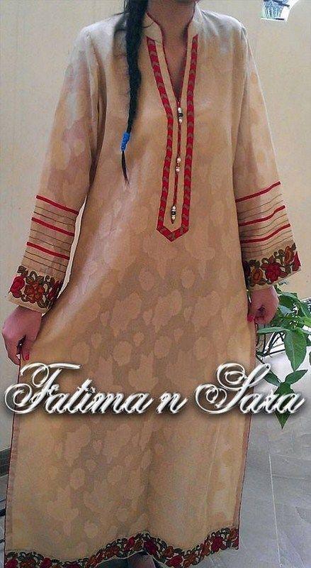Fatima N Sara Winter Dresses 2013-2014 For Women