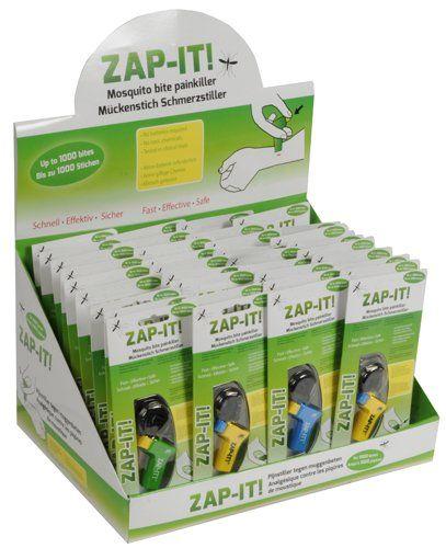 Zap-It - Pijnstiller tegen muggenbeten (6 kleuren)