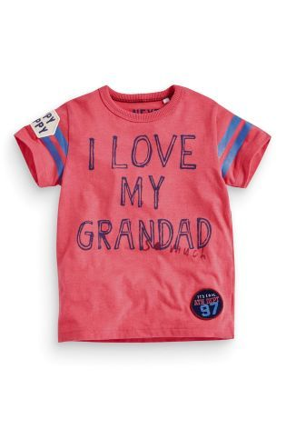 Buy I Love My Grandad T-Shirt (3mths-6yrs) online today at Next: United States of America