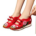 Mujer Bailarinas Confort Alpargatas Zapatos bordados Tejido Primavera Verano Otoño Invierno Deportivo CasualConfort Alpargatas Zapatos 2017 - $10.99