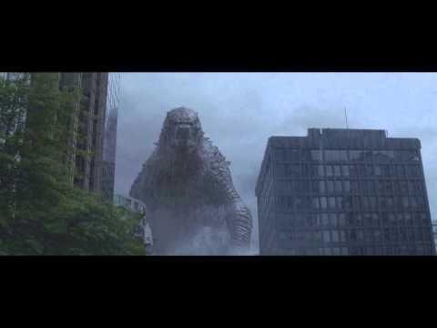Godzilla 2014 - All Godzilla Scenes - YouTube