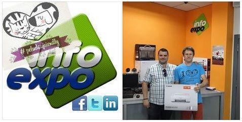 Hoy queremos dar las GRACIAS a Alberto Caselles y a todo su equipo de INFOEXPO (Avda.Teodomiro, Orihuela), por ese regalazo que nos han hecho: una IMPRESORA!!!! MUCHAS GRACIAS!! Sois #peludosfriendly http://www.infoexpo.es/servicios/