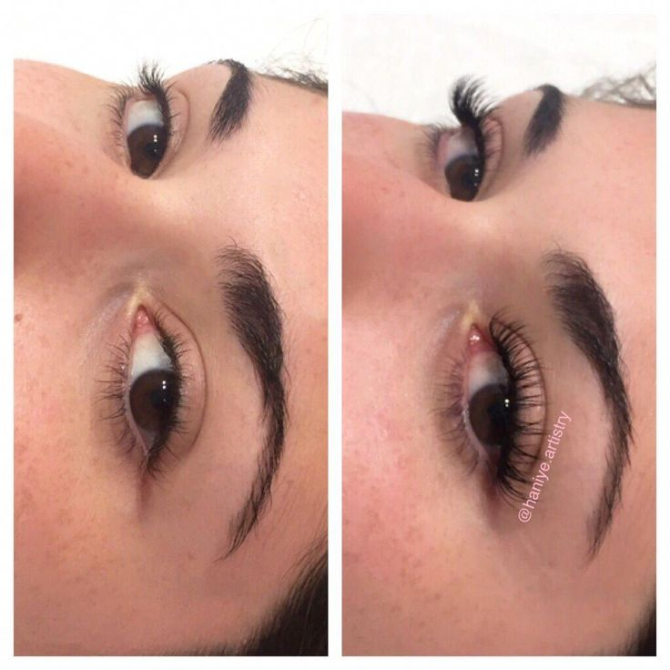 Classic Eyelash Extensions by Haniye in Victoria bc