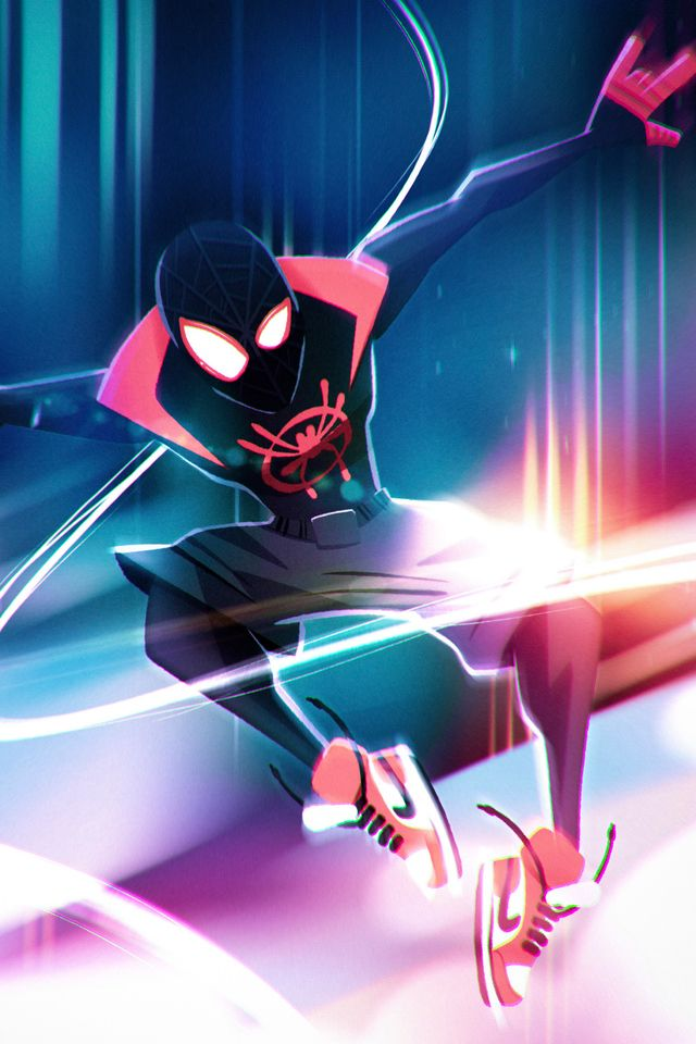640x960 Spiderman Into The Spiderverse Illustration Character Design Iphone 4 Iphone 4s Hd 4k Wallpapers Images Bac Spiderman Marvel Spiderman Spiderman Art