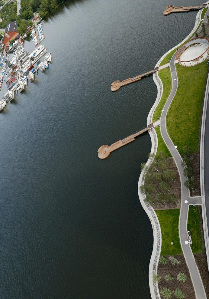 Hornsbergs Strandpark, Kungsholmen, Stockholm, Sweden - Nyréns Arkitektkontor