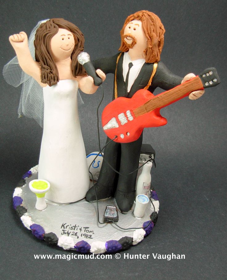 wedding cake topper guitarist 1000 images about guitarist s wedding cake toppers on 26333