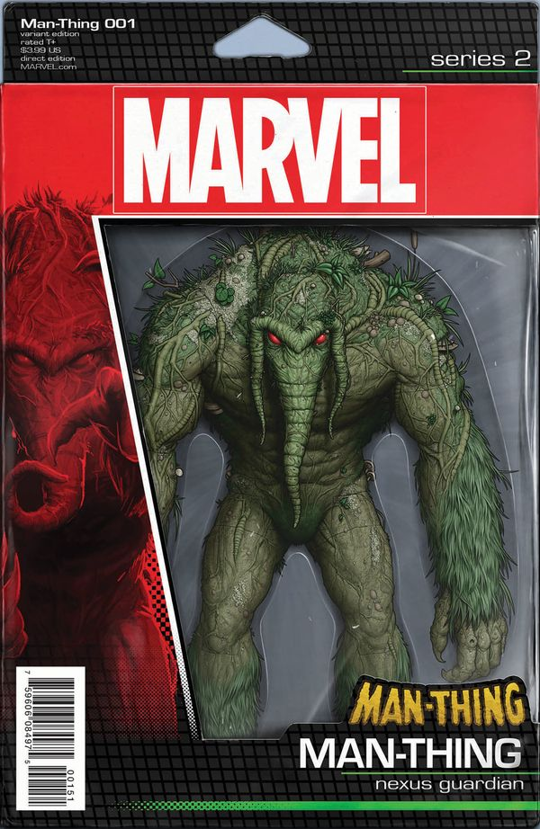 World Famous Author R.L. Stine Comes to Marvel Your New Look at MAN-THING #1 #Marvel