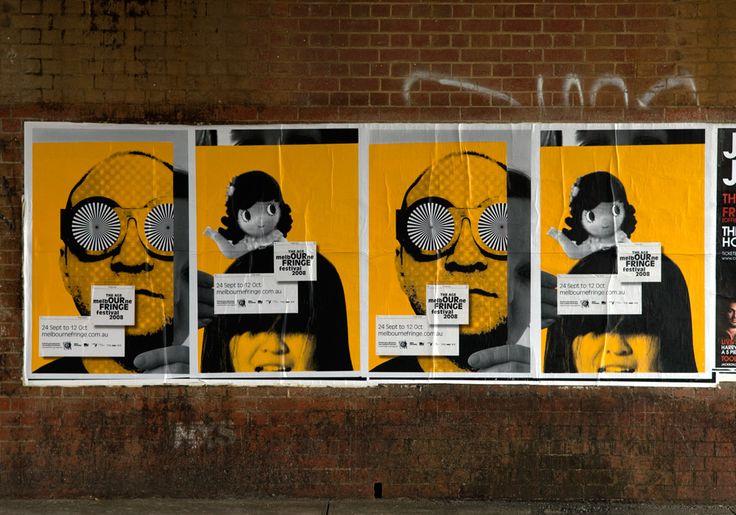 Melbourne Fringe Festival 2008 – alter ego street posters