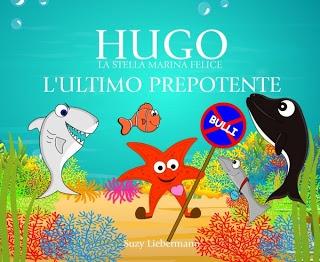 """Hugo è una piccola stella marina, quindi non c'è da stupirsi che in questa storia incontri nell'oceano numerosi pesci più grandi di lui.  """"L'ULTIMO PREPOTENTE"""" è un libro per bambini che sostiene la fiducia in se stessi, mostrando che essere diversi non è un problema e che il modo migliore per difendersi dal bullismo è di parlarne con qualcuno. Un fantastico libro per insegnare il RISPETTO. www.MyStarfish.org"""