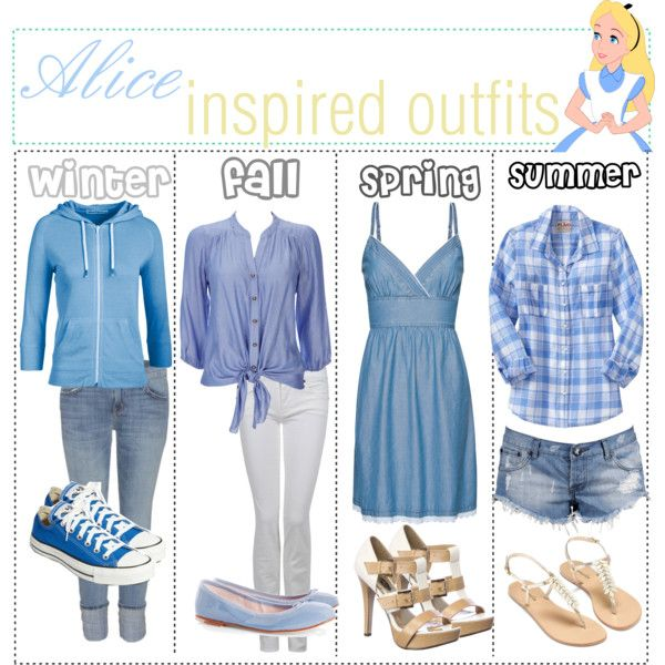 """alice inspired outfits :)"" by shannonstyles on Polyvore"