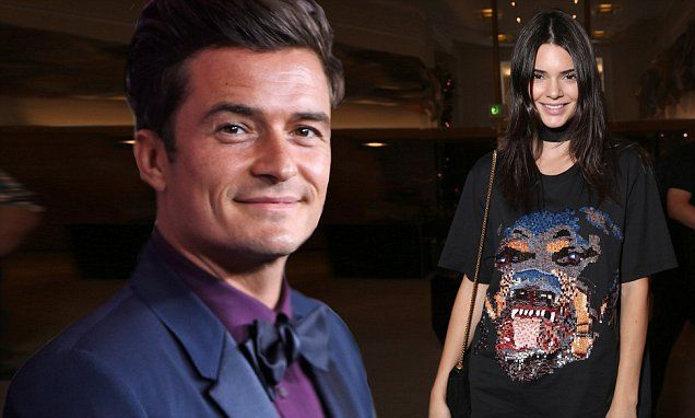 Orlando Bloom is 'interested' in Kendall Jenner following romance rumours | Daily Mail Online
