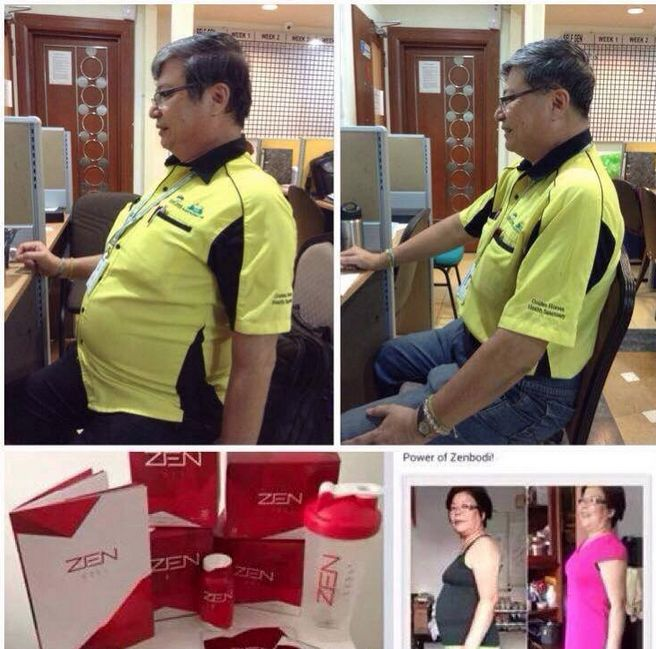 Amazing Zen BODI results after only being pre launched less then 5 weeks ago! Ever wondered why other products don't give sustainable results ? The difference with Zen BODI is it changes and restores the metabolism by fuelling your body and unblocking the fatloss messenger. The amazing medical team at Jeunesse deliver yet again.Order direct from http://www.sarahk.jeunesseglobal.com