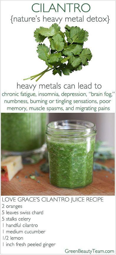 A juice detox recipe - Green Beauty Team
