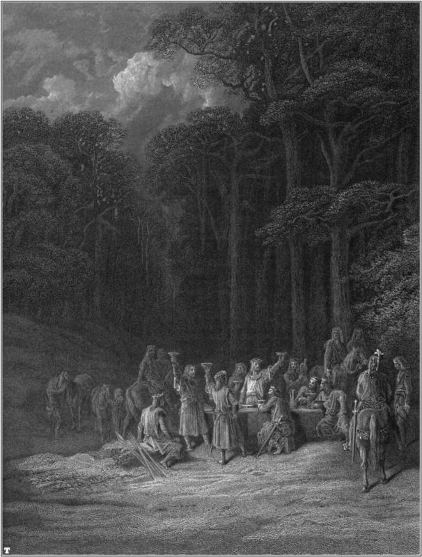Idylls of the King - Paul Gustave Dore