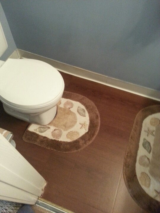 Redoing The Floor Of My 1 2 Bath With Contact Paper Cost