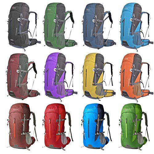 I just bought this and love it. Oxking 50 Liter Outdoor Sports Hiking Climbing Camping Backpack Waterproof Mountaineering Bag Travel Trekking Rucksack Daypacks . you can see what others said about it here http://bridgerguide.com/oxking-50-liter-outdoor-sports-hiking-climbing-camping-backpack-waterproof-mountaineering-bag-travel-trekking-rucksack-daypacks/