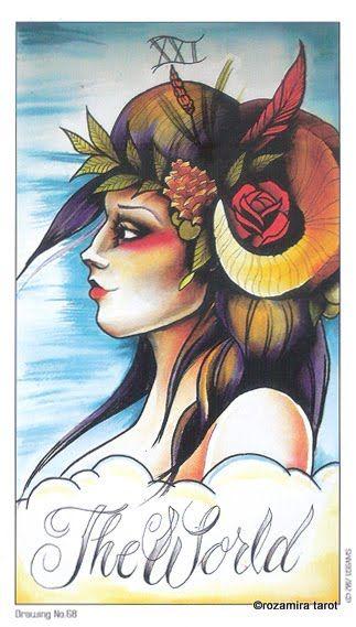 Tarot The World 8 Coins Tattoo Tarot Collected Cards Tarot Decks