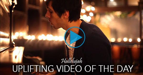 "The Christian music group Cloverton gathered in a small coffee shop and performed the Leonard Cohen classic ""Hallelujah"" -- but with a twist.  You can almost feel Christmas in the air as you watch the video -- it looks cold outside, but hearts are warmed by this beautiful rendition."