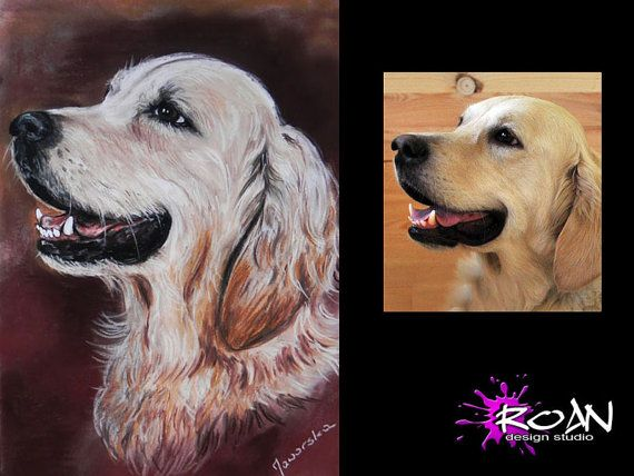PET PORTRAIT. Commission pastel painting/pencil by RoanStudio, zł120.00